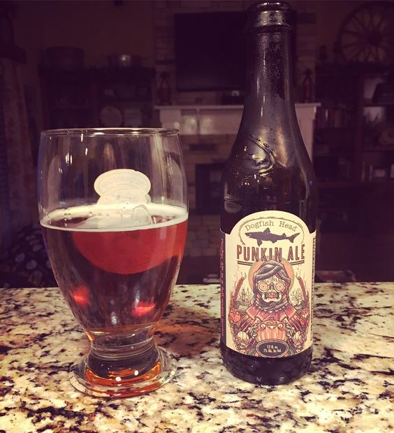 When he supports your #basicness  😝 HA #punkinale #dogfishhead