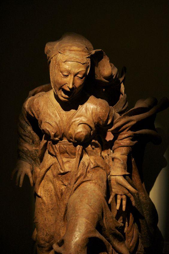 Niccolò dell'Arca - Compianto sul Cristo morto, Chiesa di Santa Maria della vita, Bologna Terracotta, between 1460/1490: