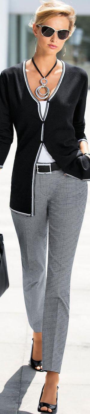 Madeleine Black Cardigan Spring 2016 • Street CHIC • ❤️ Babz™ ✿ιиѕριяαтισи❀ #abbigliamento: