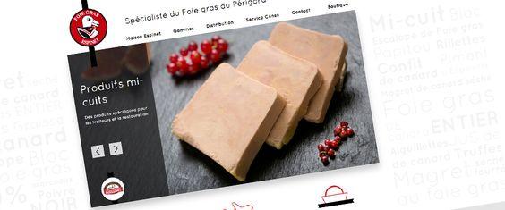 Site marketing : Foies gras Espinet (juillet 2014) - http://www.foiegrasespinet.com - #webdesign