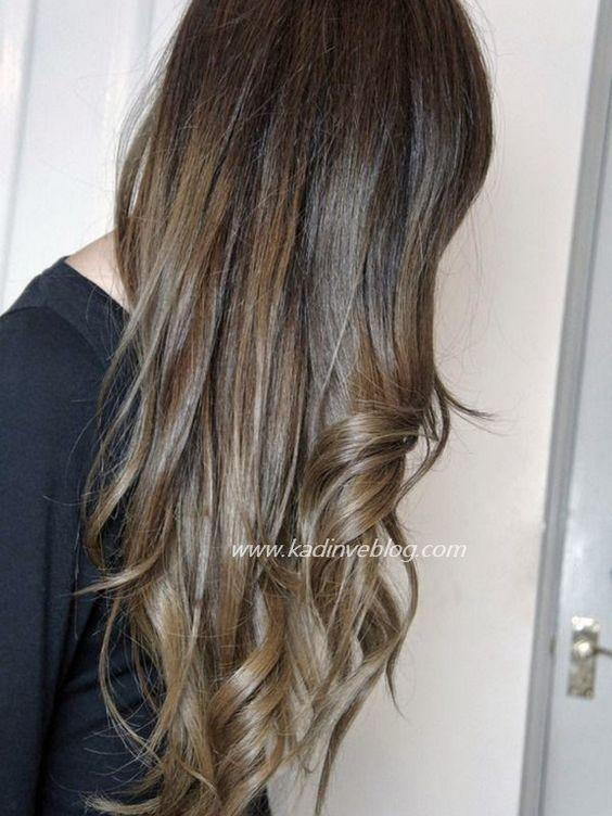 Ombre Sac Kimlere Yakisir Ash Brown Hair Color Ash Blonde Hair