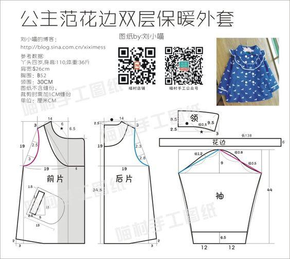 [Руководство] Принцесса Вентилятор Сяо мяу дважды теплая куртка (с обучающими и рисунков)