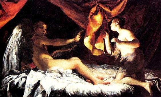 Giuseppe Maria Crespi - Amore e Psiche - 1709 - Firenze - Galleria degli Uffizi