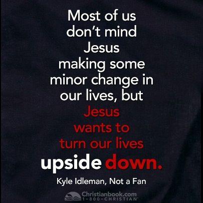 Kyle Idleman, Not a Fan: