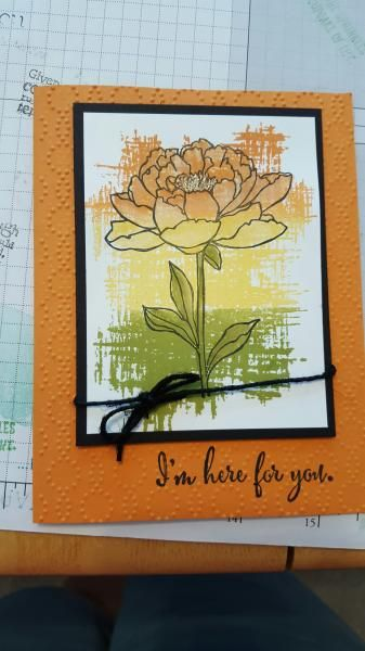 Tricolor Floral by inkerzaway - Cards and Paper Crafts at Splitcoaststampers
