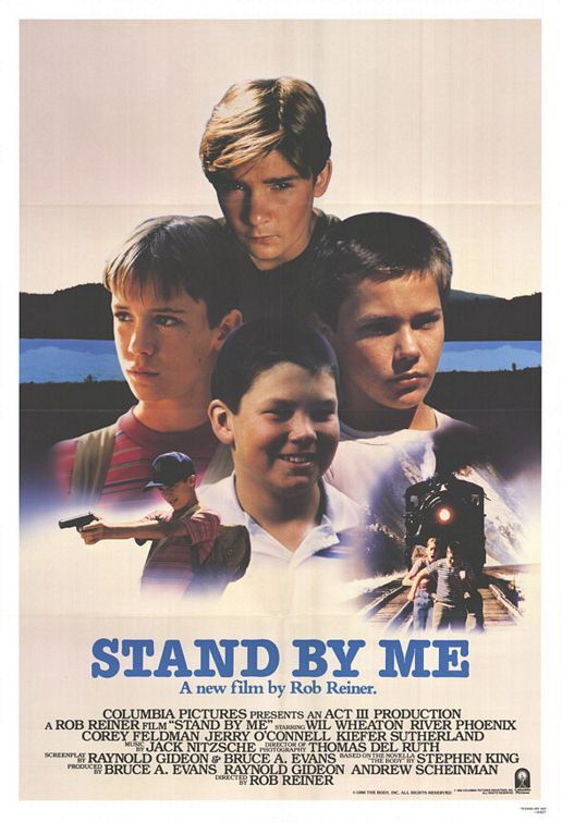 Stand by Me (1986) | It's the summer of 1959 in Castlerock, Oregon and four 12 year-old boys - Gordie, Chris, Teddy and Vern - are fast friends. After learning of the general location of the body of a local boy who has been missing for several days, they set off into woods to see it. Along the way, they learn about themselves, the meaning of friendship and the need to stand up for what is right.