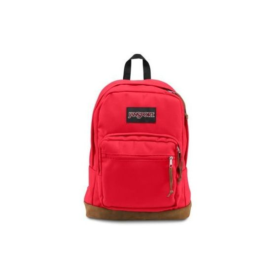 JanSport Right Pack Backpack High Risk Red (77 CAD) ❤ liked on ...