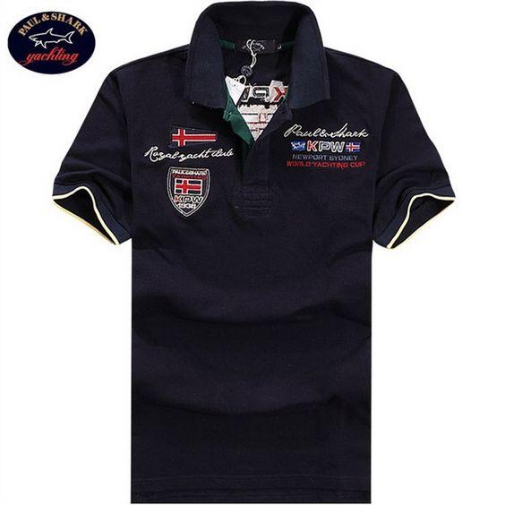 cheap ralph lauren outlet Paul \u0026amp; Shark Men\u0026#39;s Polo Shirt Navy Blue Pique http:/