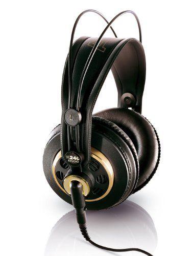 Akg K 240 Semi-Open Studio Headphones, 2015 Amazon Top Rated DJ Headphones #MusicalInstruments