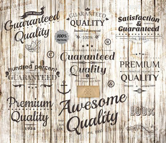 Vector conjunto de elementos de diseño caligráfico, página ...