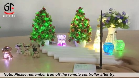GFLAI Brand Remote Control LED Glow Stick  tina@ledgiftsupplier.com