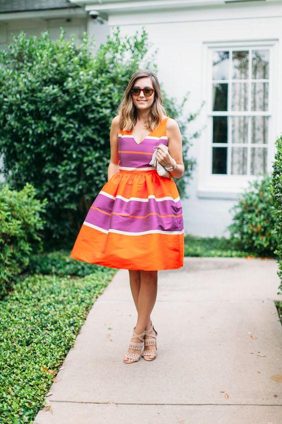 striped dress :: by SMITH