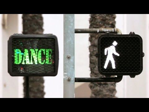 Don't just walk across the street: Dancewalk!