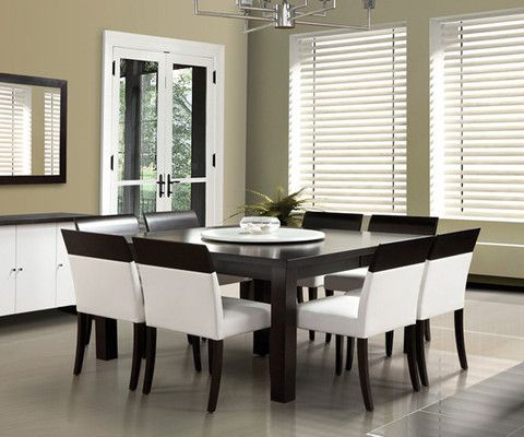 Dinec square dining table furniture pinterest for Best quality dining room furniture manufacturers