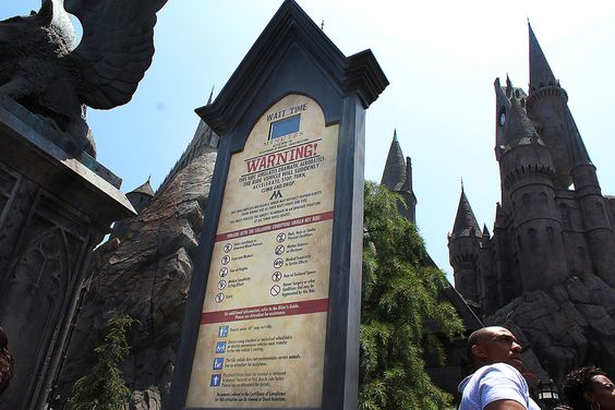 Harry Potter-Universal Studios, California