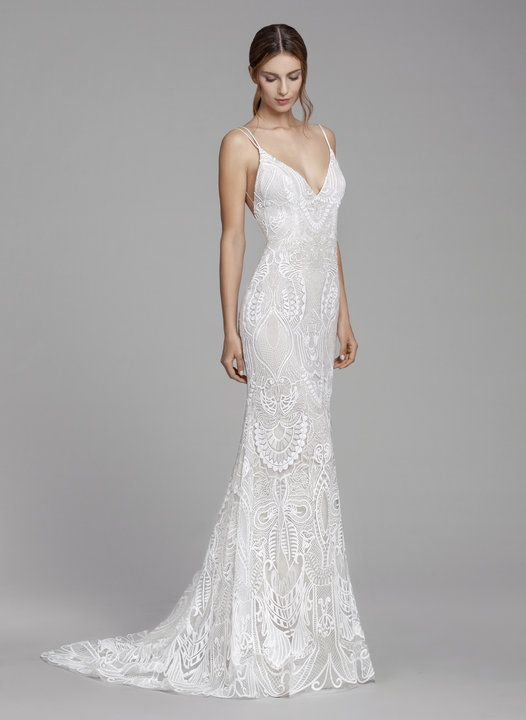 Style 2855 Rosalina Tara Keely By Lazaro Bridal Gown Ivory And