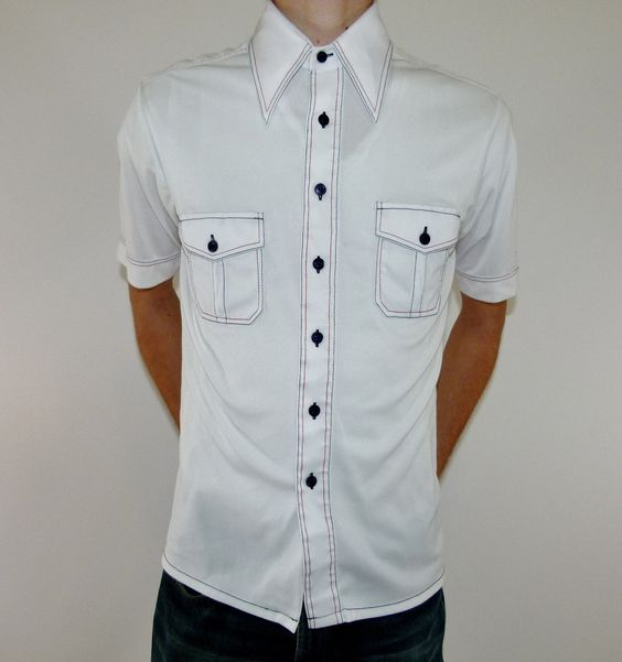White Button Up Collared Shirts | Is Shirt