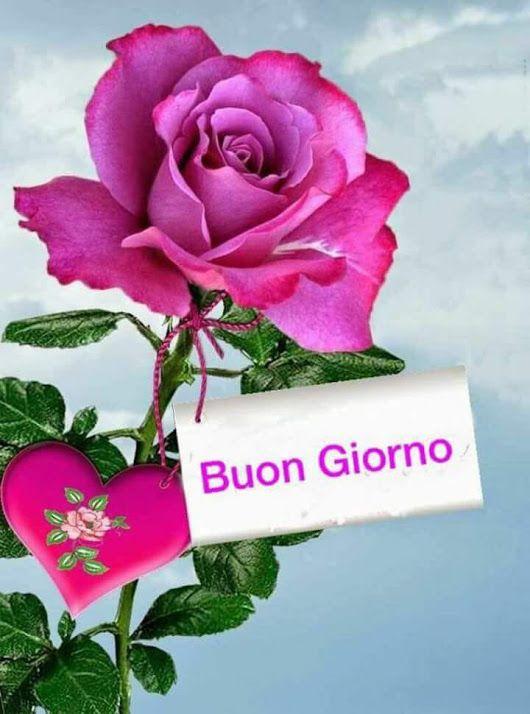 Buongiorno Buon Giovedi E Splendida Giornata A Tutti Voi Amici E