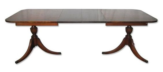Duncan Phyfe Extendable Table New Apartment Dining Room