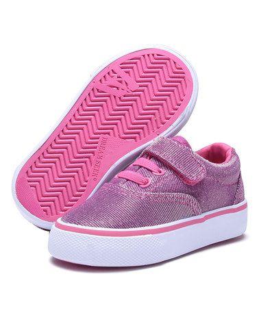 Look at this #zulilyfind! Pink Canvas Slip-On Sneaker #zulilyfinds