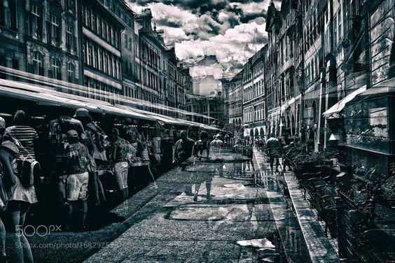 urban bustle by kip-garik
