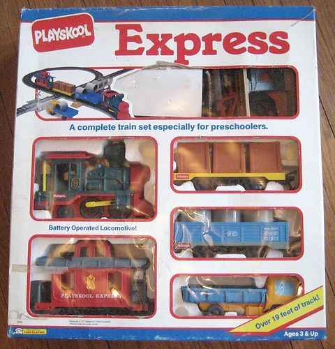Playskool Express train set
