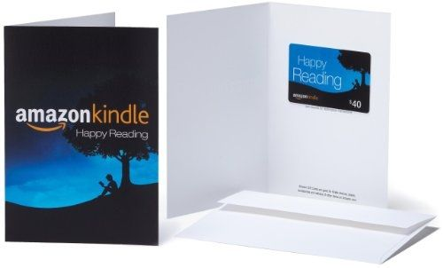 Amazon.com Kindle Gift Card - $40 $40.00