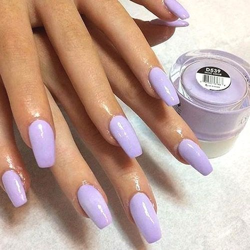 We Have Put Together The Top Nail Art Designs Make Sure You Check Them All Out Simplenailart Lilac Nails Sns Nails Colors Purple Nails