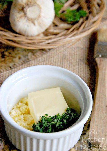 The Kitchen McCabe: Simple Fresh Herbed Garlic Butter