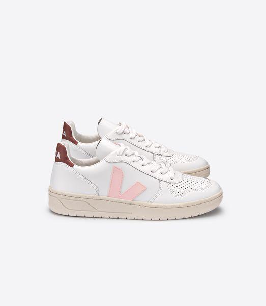 Aus Naturkautschuk Von Sneaker V10 In Und Weißrosa Leder nOwmyvNP80