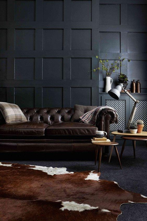 Bài trí nội thất hợp phong thủy cung Bọ Cạp bằng sofa da thật tphcm