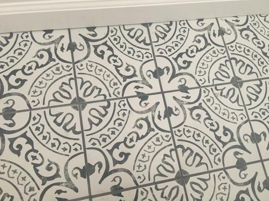 MSI Paloma Encaustic 8 in. x 8 in. Glazed Porcelain Floor ...