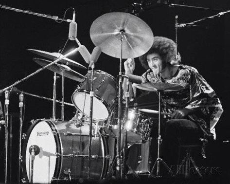 Don Brewer With Ludwig Drums Grandfunk Railroad