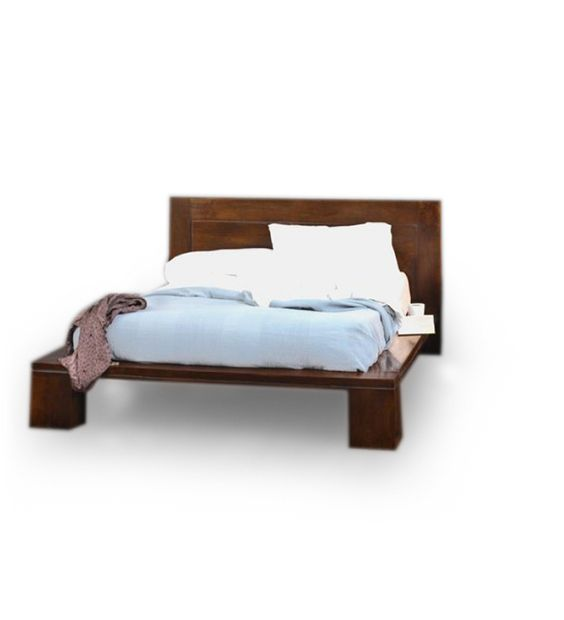 Cayenne Contemporary King Size Bed:-This is an artistic bed for a simple modern bedroom. This ...