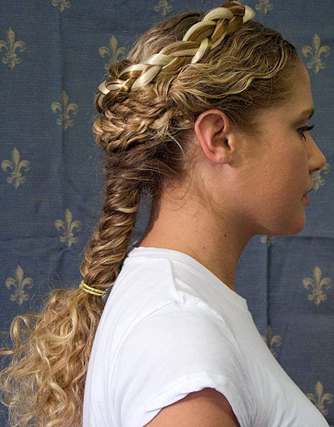 Ancient Greek Braid Hairstyle Hair Styles Roman Hairstyles Greek Hair