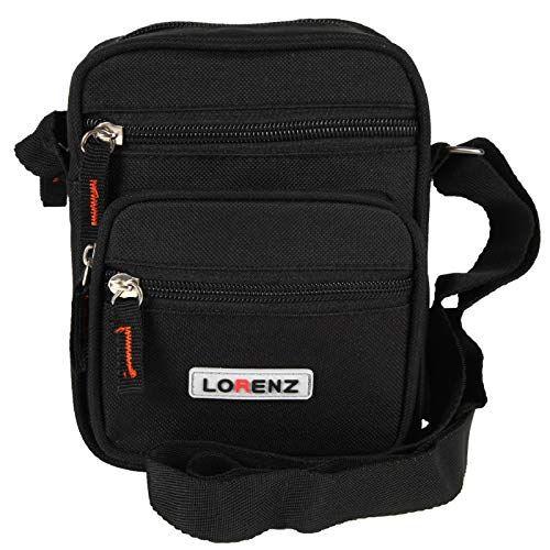 Lorenz Womens Canvas Messenger Bag Shoulder//Travel Utility Cross Body