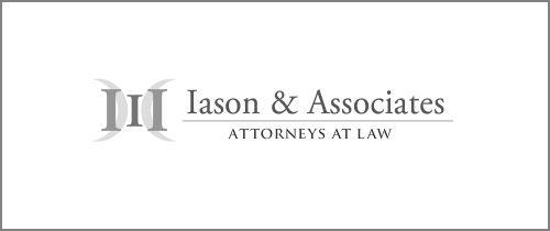 Iason & Associates Law Firm Logo Design by lawpromo.com #lawfirm #attorney #logodesign #lawyer #webdesign