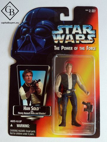Star Wars - The Power of the Force - Han Solo - Figura 10cm / 4