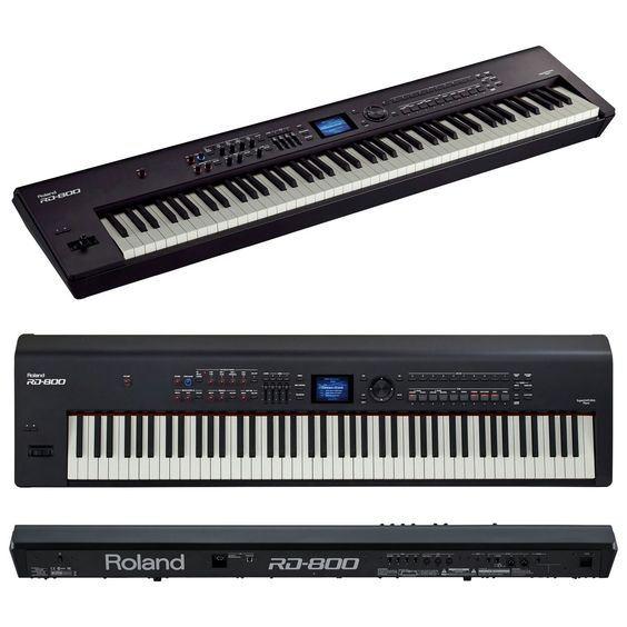 Roland RD 800 88-key Digital Stage Piano. Super Natural System. The Best Stage piano.