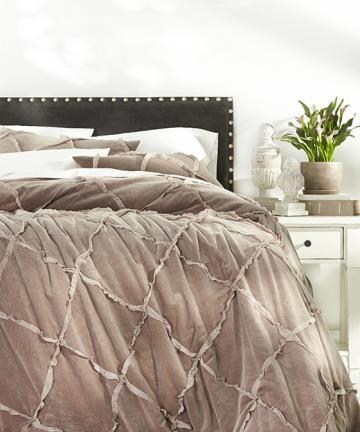 Cleo Quilt Set - Velvet Quilt - Cotton Quilts - Quilt Bedding Sets - Quilts And Coverlets | HomeDecorators.com