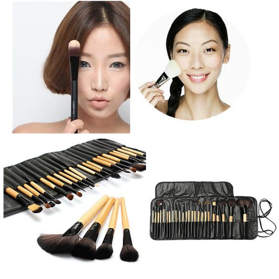 24pcs Professional Foundation Cosmetic Makeup Brushes S