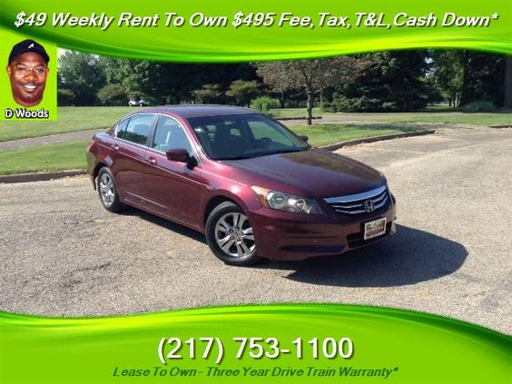 Used 2011 Honda Accord LX-P for sale in SPRINGFIELD, IL | Affordable Used Cars…