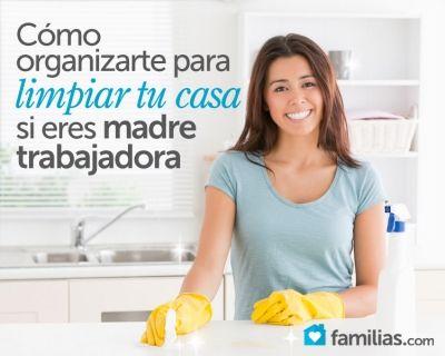 Limpiar y mantener ordenada tu casa es posible, aunque tengas que salir a trabajar. ¡Aquí te decimos cómo! Como madre trabajadora puedo decir que una...