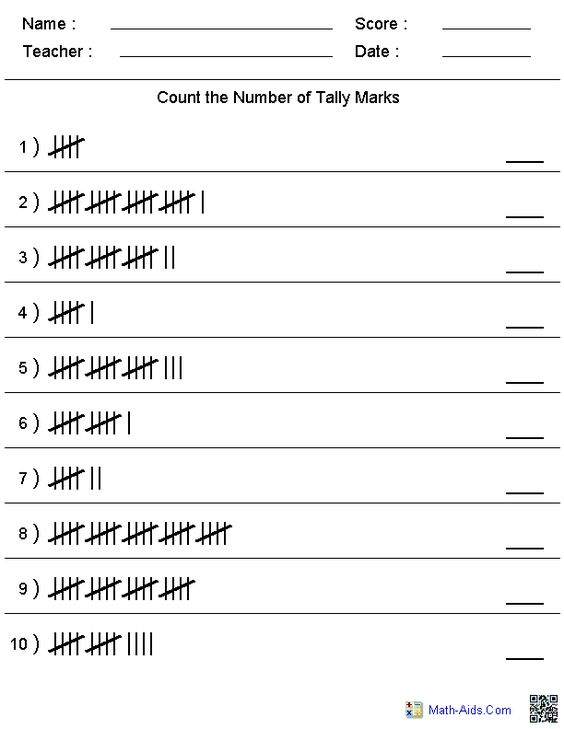 Kindergarten maths sheets that can be customised to a limited ...