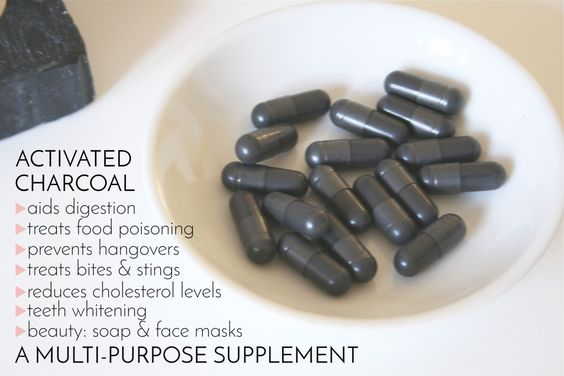 Activated Charcoal: A Multi-Purpose, Bomb-Ass Supplement