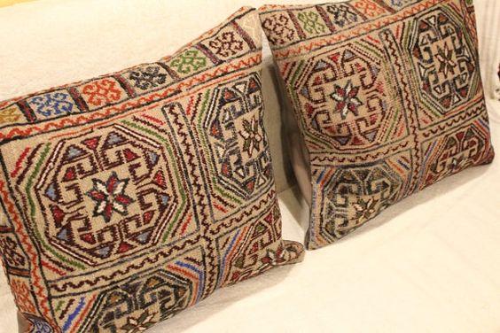 Kilim Pillow Cover Kocan Kilim Free Shipping by turkishkilimcenter