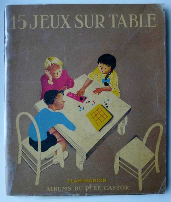 58. QUINZE JEUX SUR TABLE F. Cmur 1936