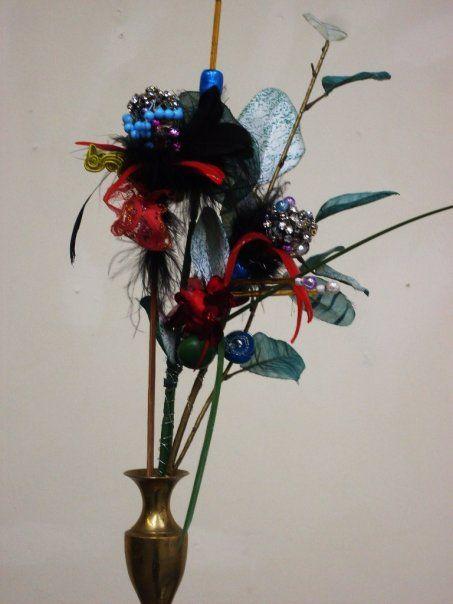 Found Objects  Flower  (c)  Alice Lenkiewicz