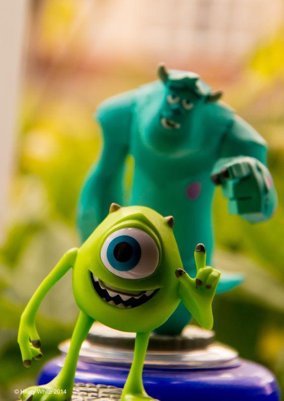 Disney Infinity Monsters Inc Figures