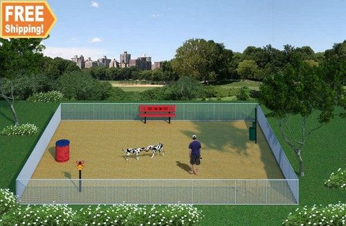 Absolute Basics Dog Park Amenities Kit Dog Park Dog Park Design Dog Park Equipment